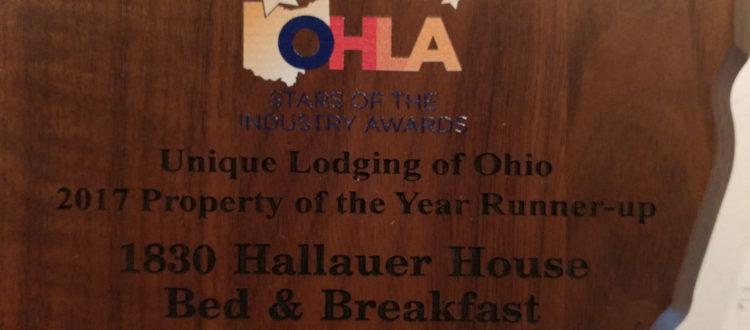 Unique Lodging of Ohio - Runner Up