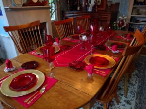 Free night - table setting differences