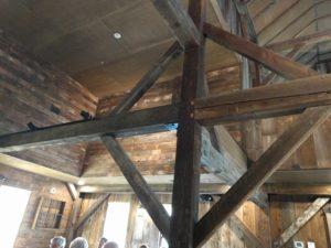 Beams in Henry's Barn