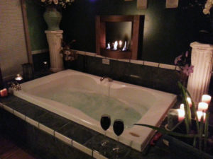 Asian spa tub