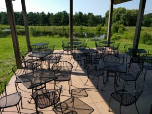 Vermilion Valley Winery Patio