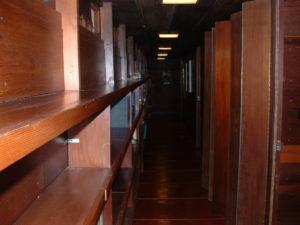 Hallway Frank Lloyd Wright house
