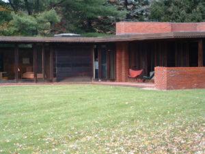 Frank Lloyd Wright Exterior Vieww