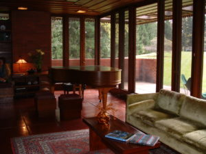 Frank LLoyd Wright Living Room