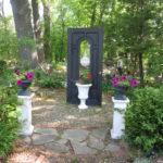 Door to Soundscape Garden