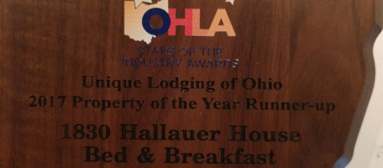 Unique Lodging of Ohio - Runner Up