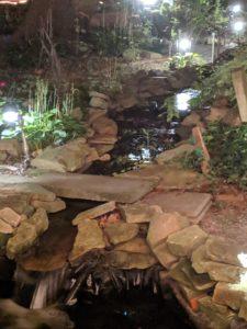 """alt:""""garden stream at night"""""""