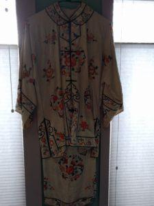 "alt:""Asian silk pajamas"""